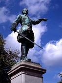 Karl XII in Kungsträdgården, Stockholm