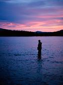 Fritidsfiske i Indalsälven, Jämtland