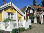 Older buildings in Kalmar, Småland