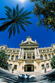 Rådhuset i Malaga, Spanien