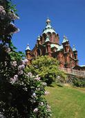 Uspenskij Katedral i Helsingfors, Finlan