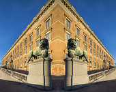 Stockholms slott, manupulerad bild