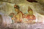Fresker vi Sigirya, Sri Lanka