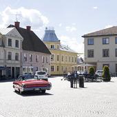 Stor torget i Hjo, Västergötland