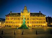 Rådhuset i Antwerpen, Belgien