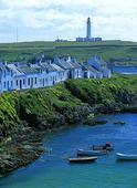 Port Charlotte på Islay, Skottland