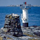Kummel vid Södra Meholmen fyr, Bohuslän