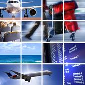 Luftfart-kollage