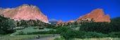 Naturlandskap i Colorado, USA