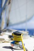 Vinsch på segelbåt