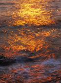 Solljus i havet