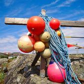 Flöten till fiskeredskap
