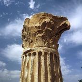 Roman Column Merida, Spanien