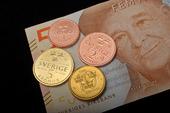 Nya svenska mynt & sedel