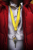 Nyckel i halsband