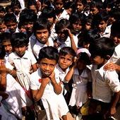 Skolbarn i Sri Lanka