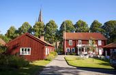 Hembygdsgården i Mariestad, Västergötland