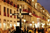 The Holy Week in Malaga, Spain