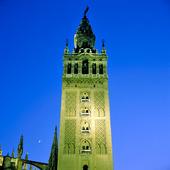 Klocktornet La Giralda i Sevilla, Spanien