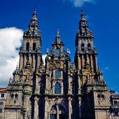 Katedralen Santiago de Compostela, Spanien
