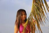 Kvinna på Filippinerna