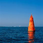 Rött sjömärke