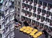 Gamla stan i Innsbruck, Österrike