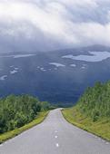 Landsväg över fjällen, Lappland