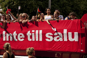 Demonstration - Inte till salu