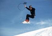 Sotare på snowboard