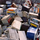 Bilbatterier för återvinning