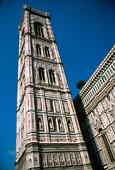 Kampanilen i Florens, Italien