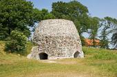 Gammal ruin i Skåne, Sverige