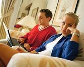 Par vid dator