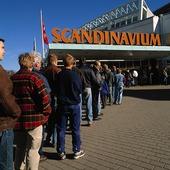 Kö till Scandinavium, Göteborg