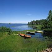 Siljan vid Sollerön, Dalarna