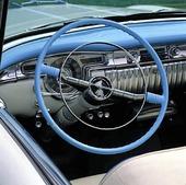 Förarplats på Oldsmobile