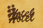 Hotellskylt