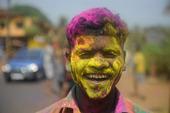 Holi festival i indien