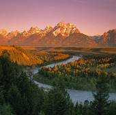 The Grand Tetons, USA