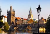 Prag, huvudstad i Tjeckien