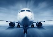 Flygplan på startbana