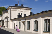 Örebro järnvägsstation, Närke