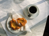 Kaffe och wienerbröd