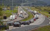 Biltrafik på motorväg