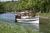 Siesta Ess-båt, Djurgårdskanalen