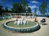 Badhusparken i Östersund, Jämtland