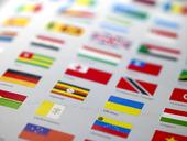 Olika länders flaggor
