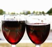 Två vinglas