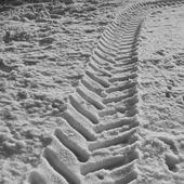 Däckmönster i snö